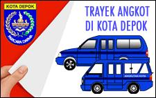 Photo of Trayek Angkutan Umum Di Kota Depok