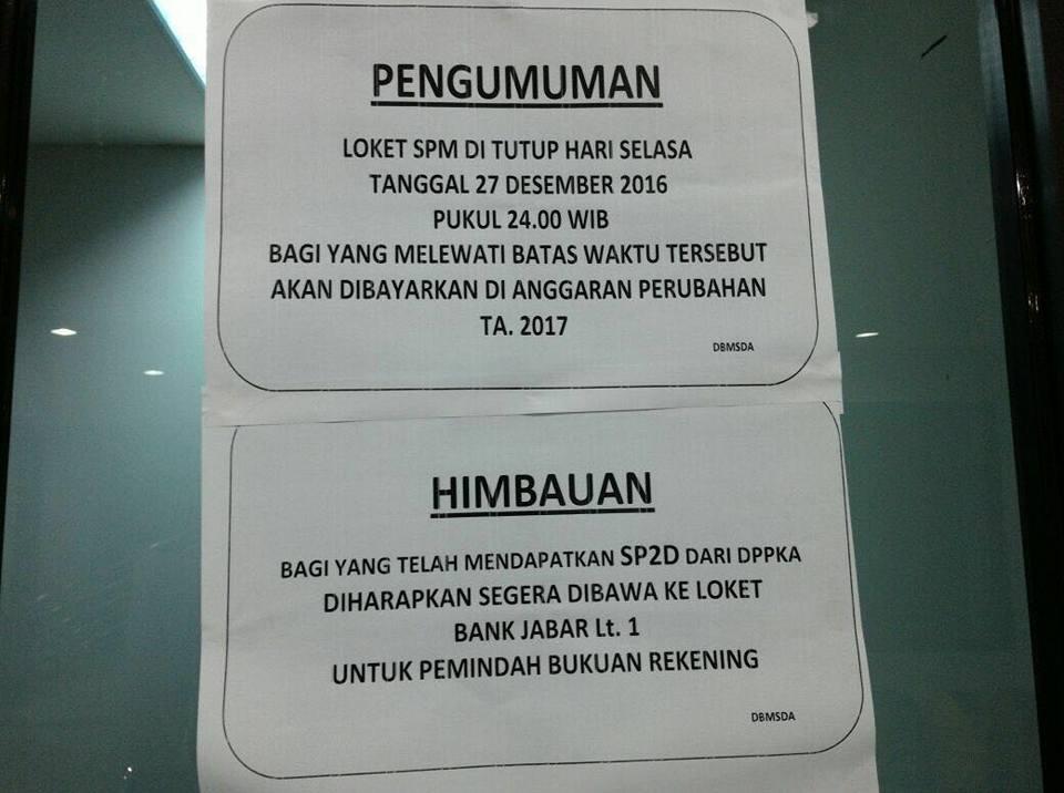 Photo of Loket Pengajuan SPM Dan Penerbitan SP2D Ditutup Hari Ini, Kontraktor Depok Menjerit