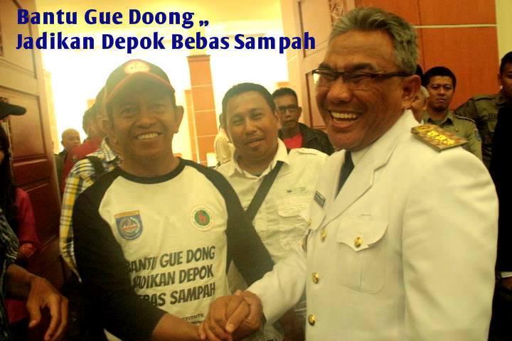 Photo of Hersong Ajak Warga Depok Pungut Sampah