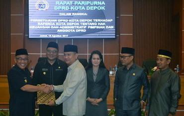 Photo of Ini Kenaikan Penghasilan Anggota DPRD Depok Yang Disetujui