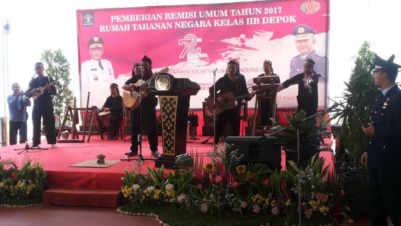Photo of 233 Warga Binaan Rutan Depok Dapat Remisi, 13 Orang Bebas Merdeka