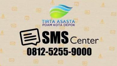 Photo of SMS Center Permudah Pelanggan PDAM Depok Mengecek Tagihan