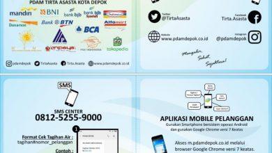 Photo of PDAM Tirta Asasta Siapkan SMS Center Untuk Cek Tagihan dan Laporan Keluhan