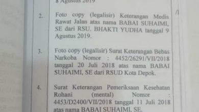 Photo of Ketua DPC PKB Depok Terancam Hukuman 4 Tahun Penjara