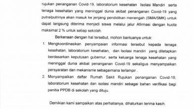 Photo of Program Prioritas Disdik Jawa Barat Dimentahkan Pihak Sekolah Di Kota Depok