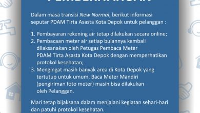 Photo of PSBB Berakhir, PDAM Depok Kembali Catat Meter Ke Rumah Pelanggan