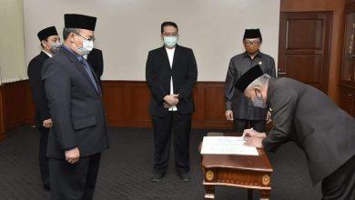 Photo of Dilantik, Olik Usung 4 Misi Besar PDAM Depok 2020-2025